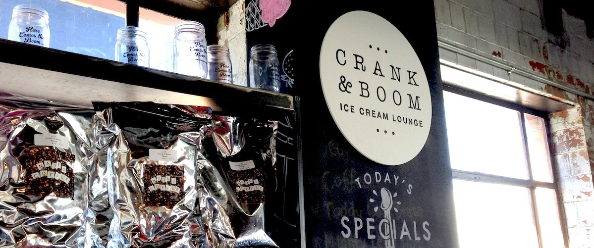 Crank & Boom serves Nate's Coffee Header