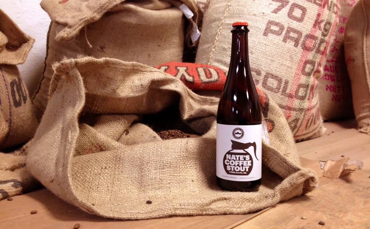 Nate's Coffee Stout comes out every January at Country Boy Brewing